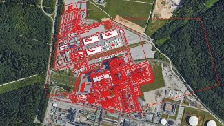 External Facilities GIS Area Map